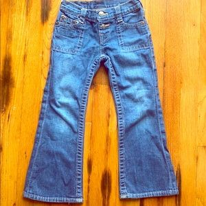 True Religion kids low rise bell bottoms